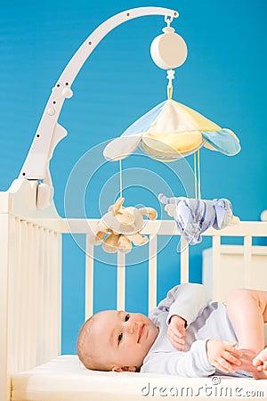 Baby at nursery