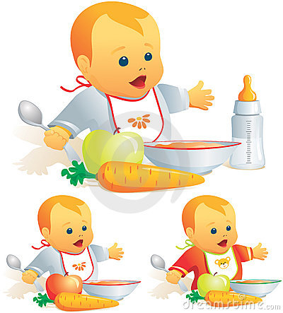 Free Baby Nutrition, Solid Food, Mi Royalty Free Stock Image - 5331546