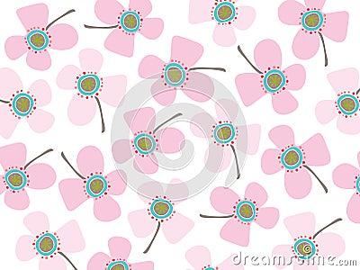 Baby pink daisies