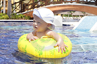 Baby in Pool