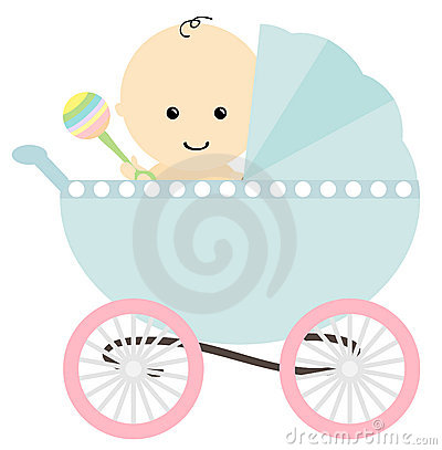 Baby In Pram Stock Photography - Image: 19194392 Baby Stroller Cartoon