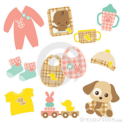 Free Baby Product Set Stock Photography - 13895842