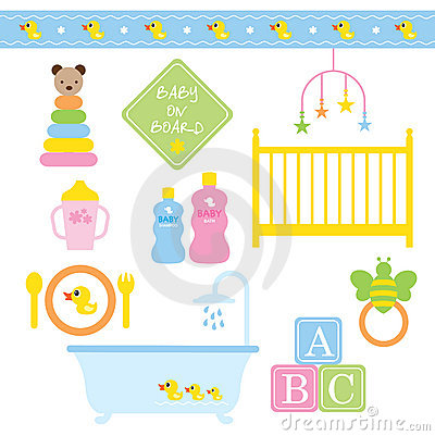Free Baby Products Stock Photos - 12818163