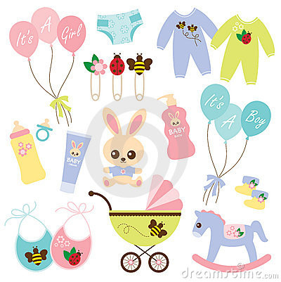 Free Baby Products3 Stock Photos - 13102913