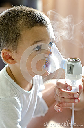 Free Baby Respiratory Therapy Royalty Free Stock Images - 47153179