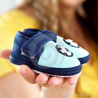 Free Baby S Bootee Stock Photos - 9207843