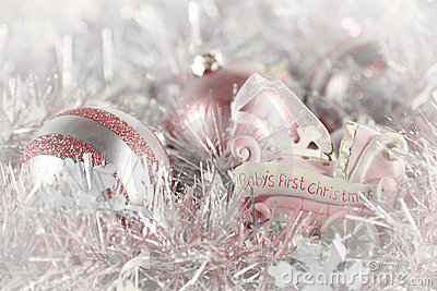 Baby s First Christmas (pink)