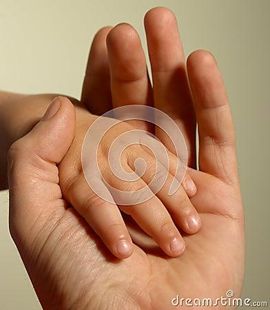 Baby s hand