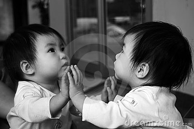 Baby s Reflection