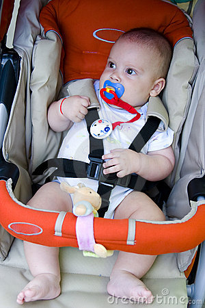 Baby in Safety Car Seat