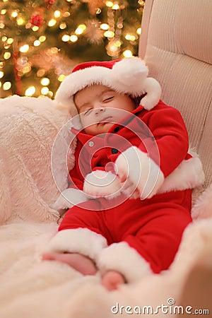 Free Baby Santa Royalty Free Stock Image - 12068956