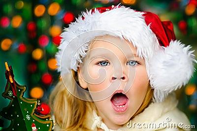 Baby Santa surprising