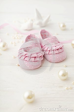 Free Baby Shoes Stock Image - 116787221
