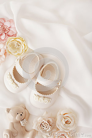 Free Baby Shoes Stock Images - 76104664