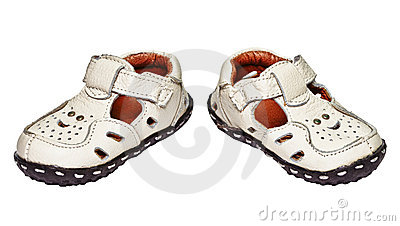 Baby shoes made ​​of genuine leather
