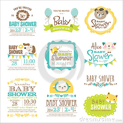 Free Baby Shower Stock Images - 42815914