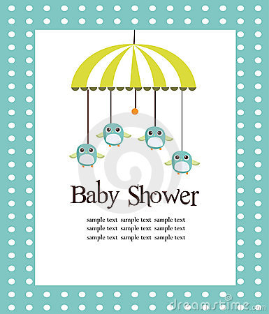How to write a baby shower card