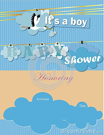 Free Baby Shower Invitation Royalty Free Stock Image - 50713946