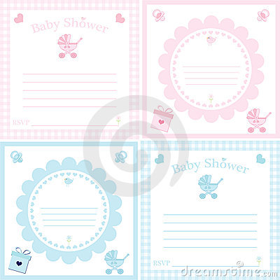 baby shower invitation template stock photography  image, Baby shower invitations