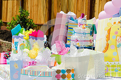 Baby shower presents