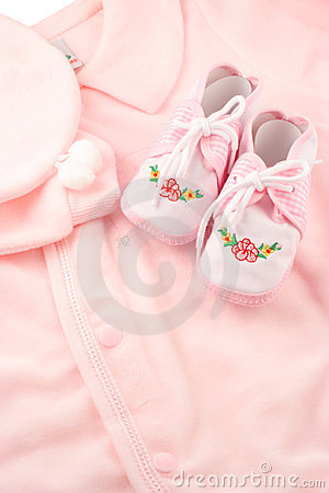 Free Baby Sleeper Booties Stock Images - 1688784