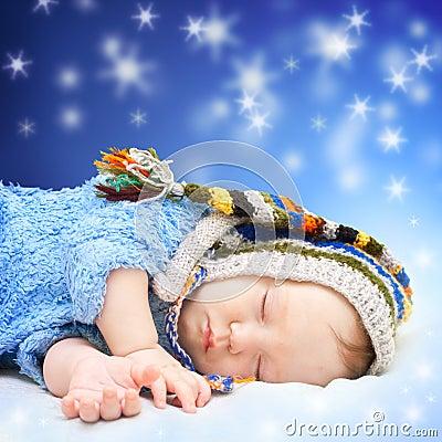Free Baby Sleeping Stock Photos - 21953083