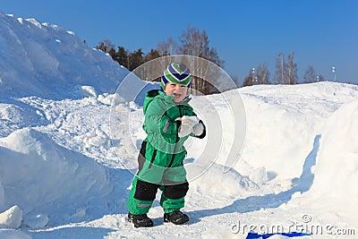 Baby snow joy