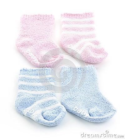 Free Baby Socks Stock Image - 21540741