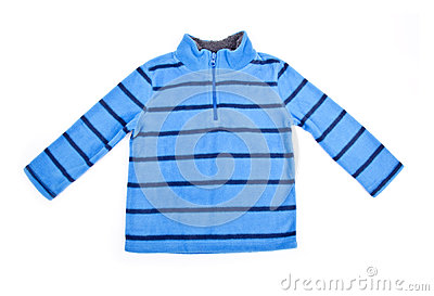 Baby Stripe Fleece Top