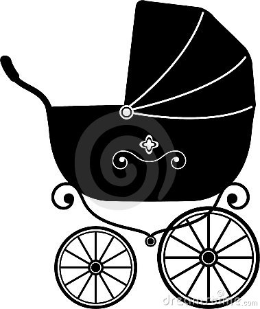 Baby Stroller (Silhouette)