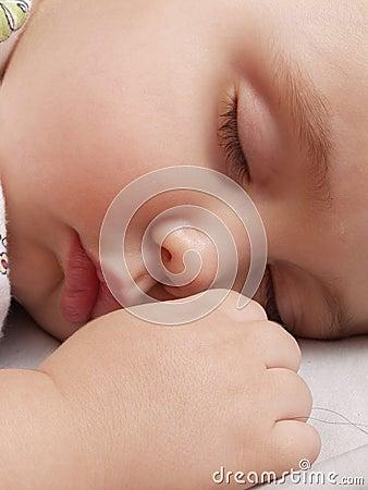 Baby sweet sleep.