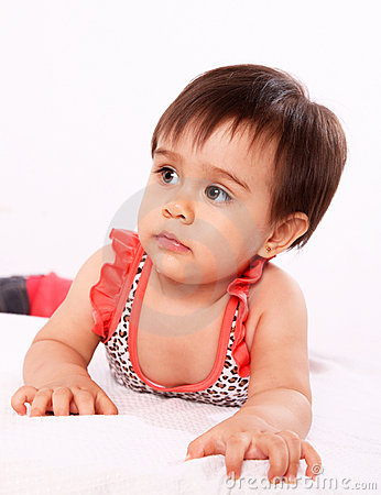 Baby with swimsuit
