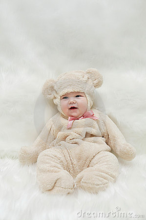 Baby teddy bear