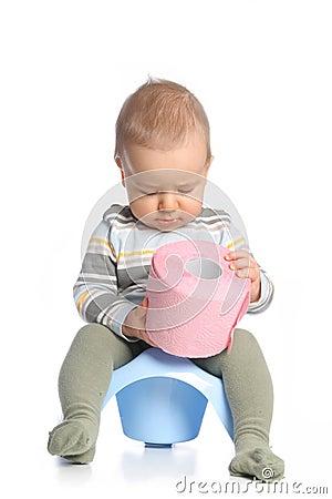 Baby with tee-pee