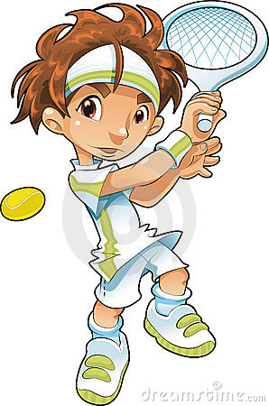 Baby-Tennis-Player