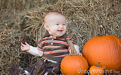Baby at Thanksgiving