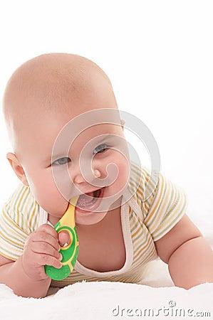 Baby toothbrooshing5