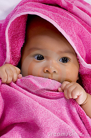 Baby in the Towel