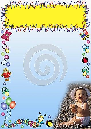 Baby toys border