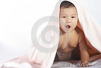 Baby under