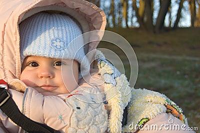 Baby on walk
