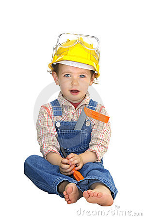 Free Baby Worker Royalty Free Stock Image - 10966536