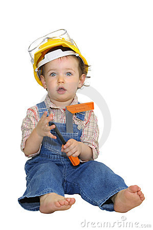 Free Baby Worker Stock Photo - 12037360