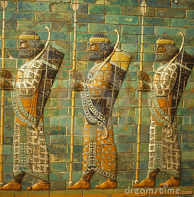 Free Babylonian Archers, Royalty Free Stock Photography - 6895097