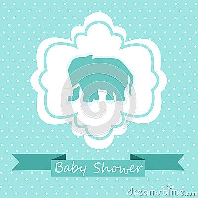 babyparty einladung lizenzfreie stockbilder bild 34279569. Black Bedroom Furniture Sets. Home Design Ideas