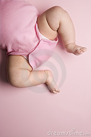 Free Babys Chubby Legs. Royalty Free Stock Photography - 2044737
