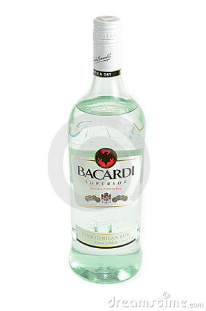 Bacardi Rum Editorial Photo