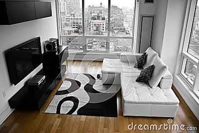 A Bachelor Pad - A Modern Living Room