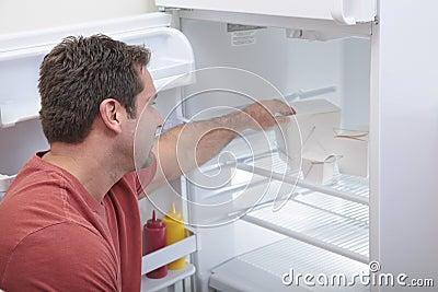 Bachelor s fridge
