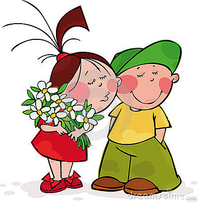 Bacio del biglietto di S. Valentino